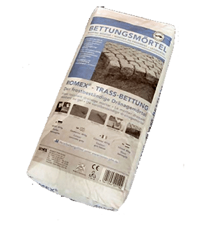 Romex Trass Bed Compound Frost Resistant Drainage Mortar