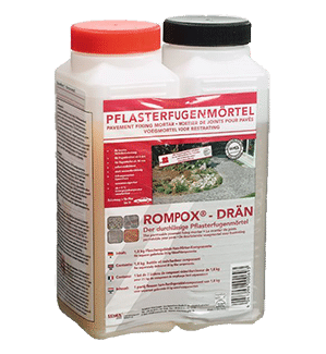 Rompox Drain 2 Component Epoxy Paving Joint Mortar