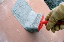 romex adhesion elutriant apply
