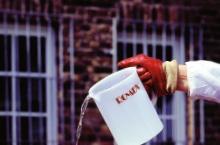romex adhesion elutriant water