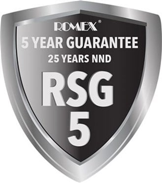RSG Romex 5 25 Year System Guarantee gb