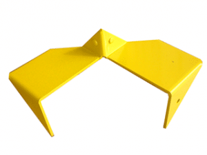 Corner Earth Anchor Plate isatec eeap