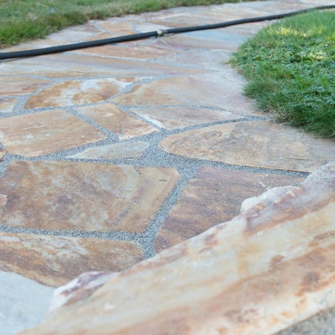 Pathway Natural Stone with Romex Easy DIY image 3