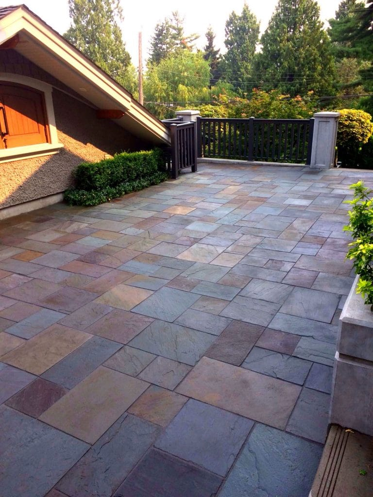Patio Natural Stone with Rompox Drain image 1