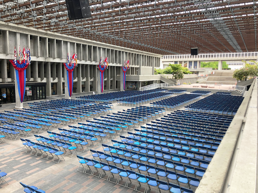 SFU Plaza