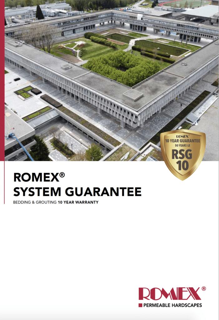Romex System Guarantee Brochure